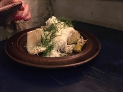 fennel with cheeses